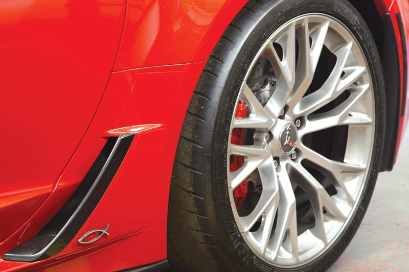 Callaway Corvette Wheel