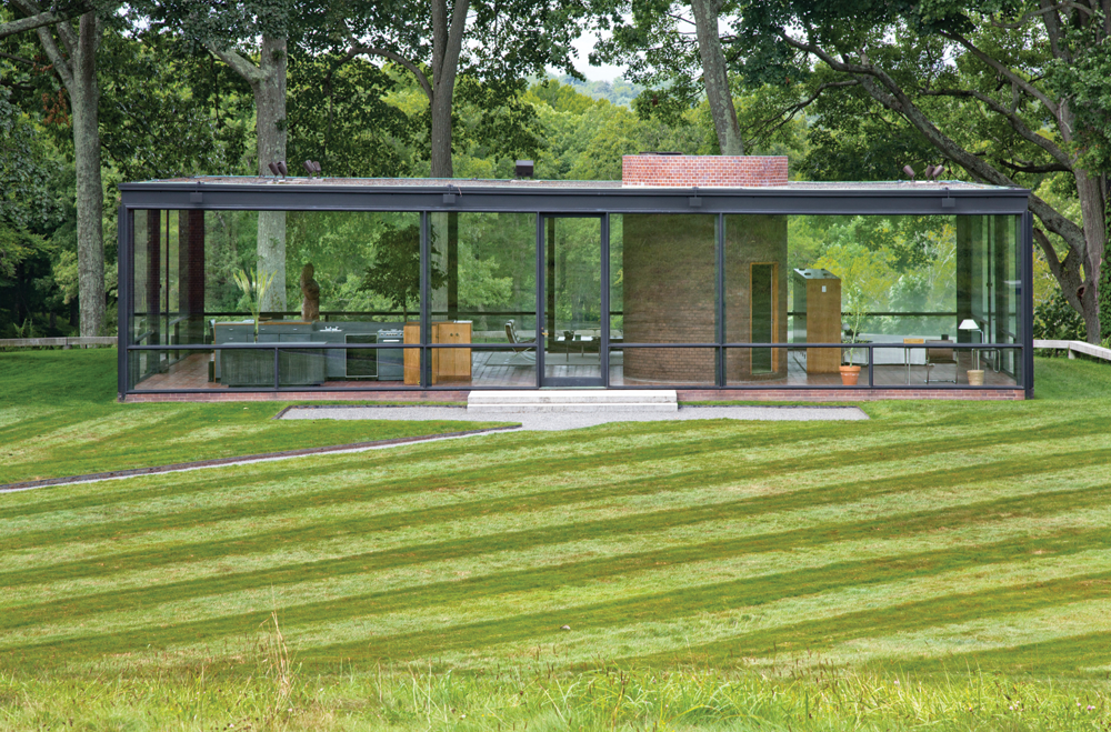 Philip Johnson S Glass House New Canaan Ink Publications