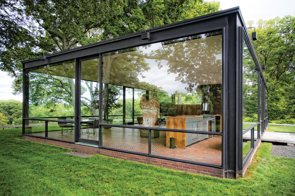 philip johnson s glass house new canaan ink publications. Black Bedroom Furniture Sets. Home Design Ideas
