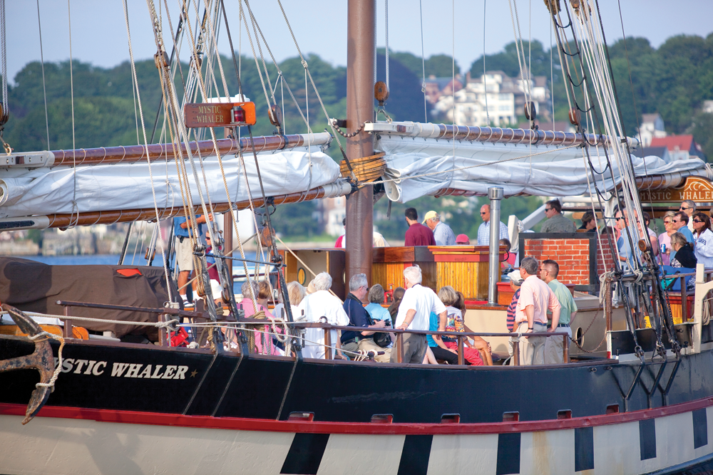 The Mystic Whaler - Continuing an American Maritime Tradition - Ink