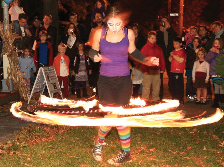 Lady, Ablaze - The Dazzling Subculture of Fire Spinning. - Ink ...