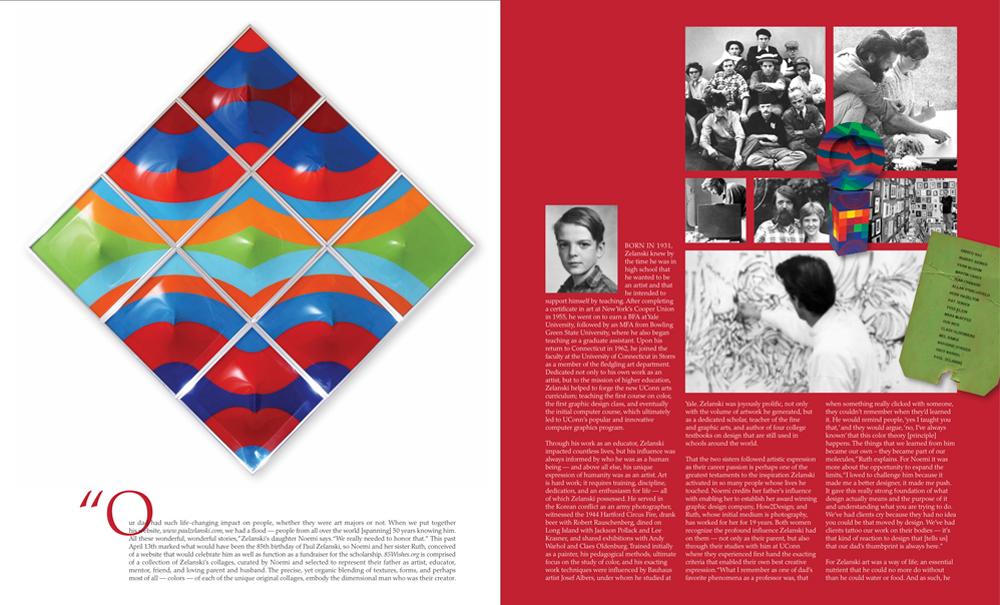 Layout & Design by Noemi Zelanski Kearns Ink Spread 2
