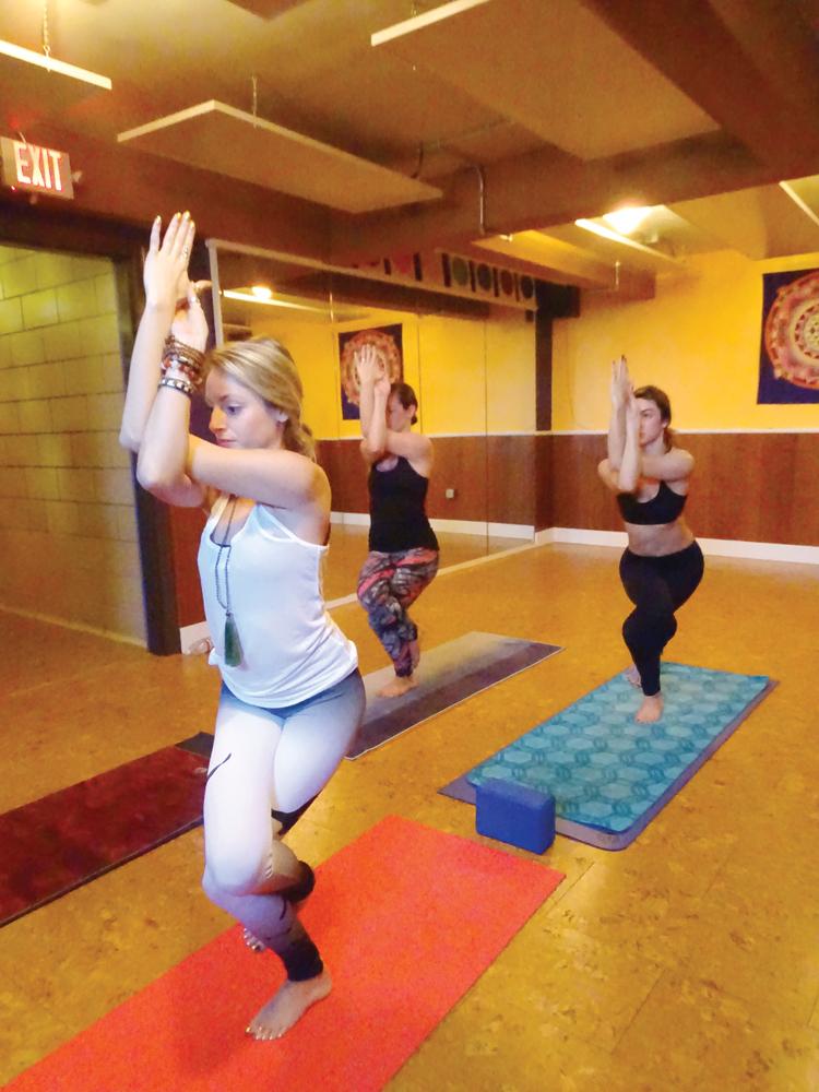 hot  hot  hot  luna vinyasa yoga heats up middletown