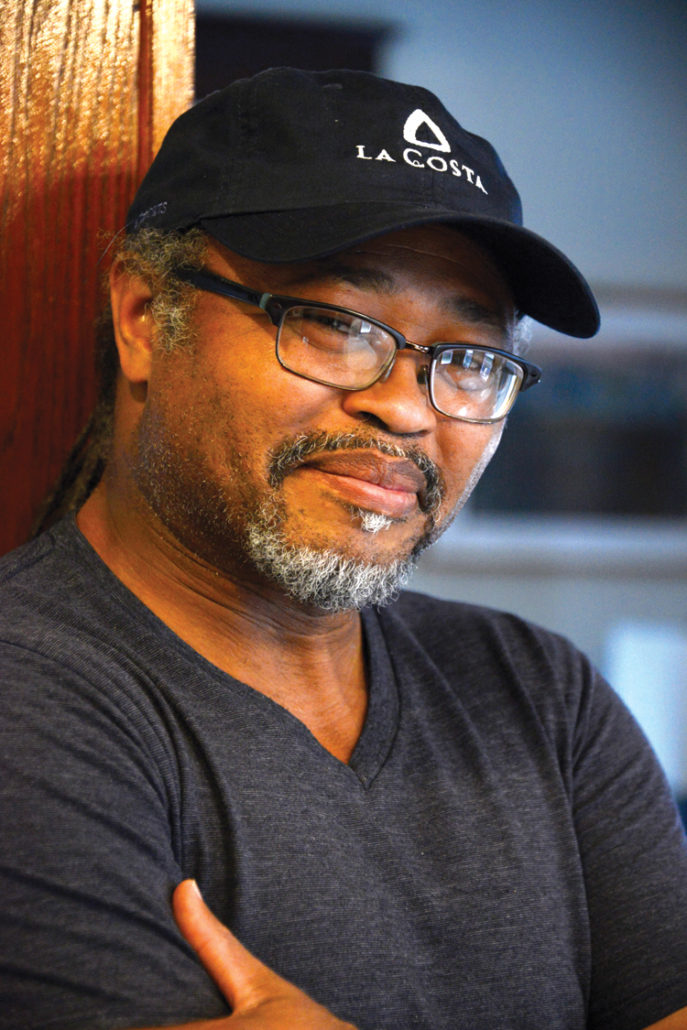 Playwright , Michael Bradford