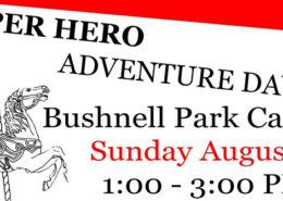 Super hero adventure day