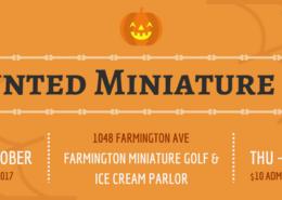 Haunted Miniature Golf