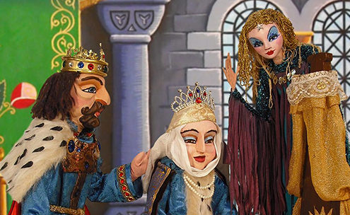 Sleeping Beauty Puppet Show