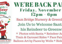 9th Annual Greenwich Reindeer Festival & Santa's Village