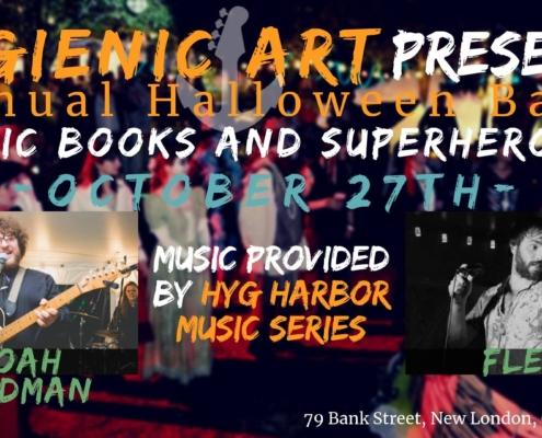 Hygienic Halloween Bash: Comic Books & Superheroes